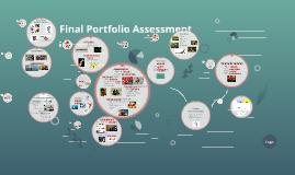 Final Portfolio Assessment