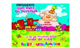 Cumple Presidente Vanegas2017