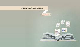 Copy of Luis Cordero Crespo
