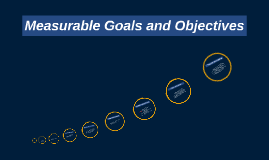 Measurable Goals and Objectives