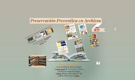 Preservación Preventiva de Archivos