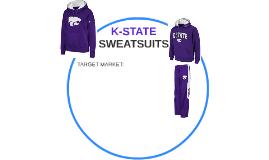 K-STATE SWEATSUITS