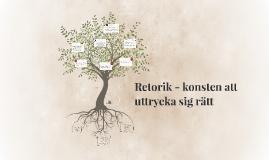 Copy of Copy of Retorik - konsten att uttrycka sig rätt