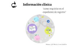 Información clinica