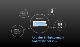 And the Enlightenment Award winner is...
