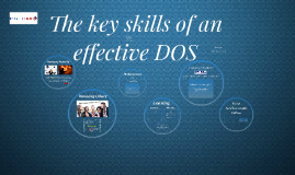 Key skills of an effective DOS - English UK