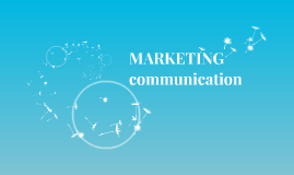 MARKETING communication