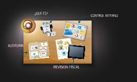 Copy of CONTROL INTERNO Y LA AUDITORIA