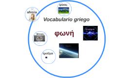 Vocavulario griego