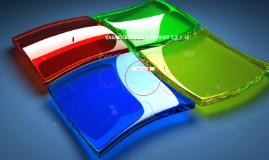 Caracteristicas Windows 7,8 y 10