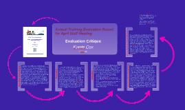 Evaluation Critique EdTech 505