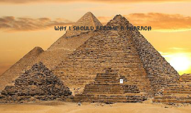 why i should become a pharaoh
