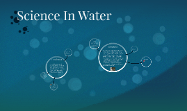 Science In Water