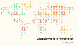Unemployment in Afghanistan