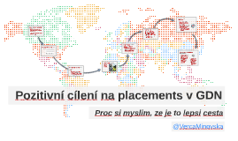 Pozitivni cileni na Placements v GDN