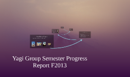 Yagi Group Semester Progress Report F2013