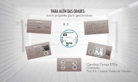 Copy of PARA ALEM DAS GRADES: nova proposta para penitenciaria