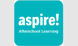 End Screens Aspire Afterschool Learning