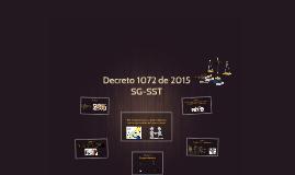 Decreto 1072 de 2015 SG- SST