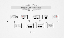 History Of Commercials