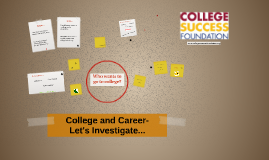 College and Career-