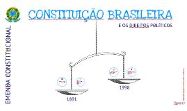 Constituição Brasileira - 2ª etapa