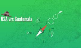 USA vrs Guatemala