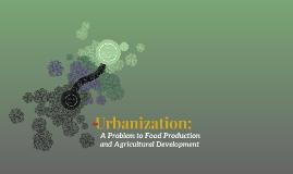 Urbanization: