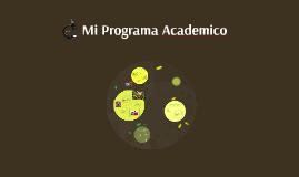 Mi Programa Academico