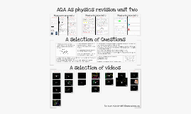 AQA AS Physics Revision Unit 2