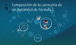 Composición de los automóviles de Fórmula 1