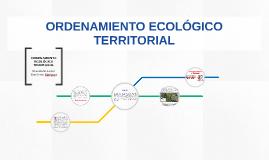 El Programa de Ordenamiento Ecológico General del Territorio