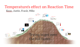 Temperature's effect on Reaction Time
