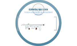 Copia de ESPAÑA S XIX