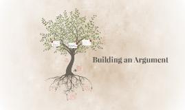 Building an Argument