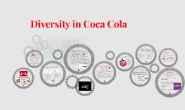 Diversity in Coca Cola