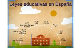 Leyes educativas en España