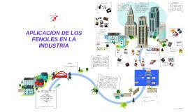 Copy of APLICACION DE LOS FENOLES EN LA INDUSTRIA