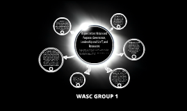 WASC Organization: Vision and Purpose, Governance, Leadershi