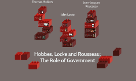 Hobbes, Locke and Rousseau: The Role of Government