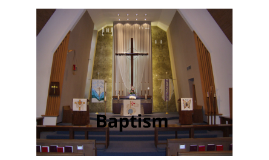 Religion Sacrament Project - Baptism