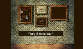 Poetry of World War I