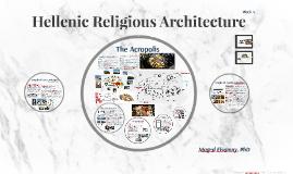 Religious Hellenic Architecture