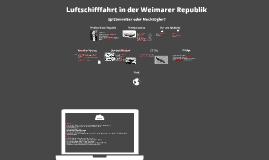 Zeppelinbau in der Weimarer Republik
