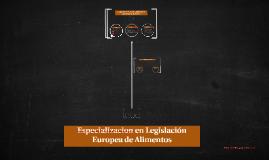Taller - Consultoria de Etiquetado de Alimentos para la Union Europea
