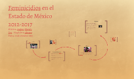 Feminicidios en el Estado de México 2012-2017