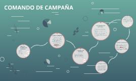 COMANDO DE CAMPAÑA