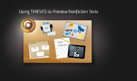 Using THIEVES to Preview Nonfiction Texts