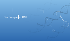 OUr Company's DNA