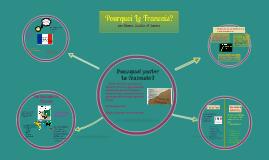 Pourquoi le francais 7C